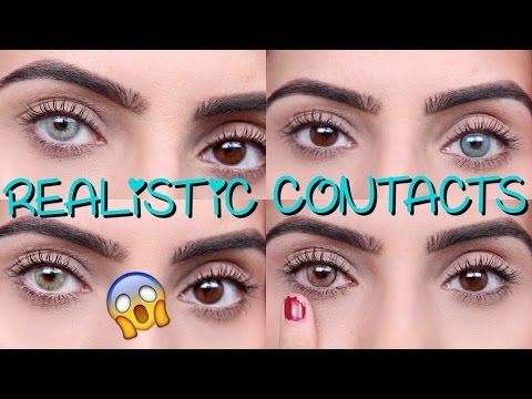 Coloured Contacts For DARK EYES | Solotica