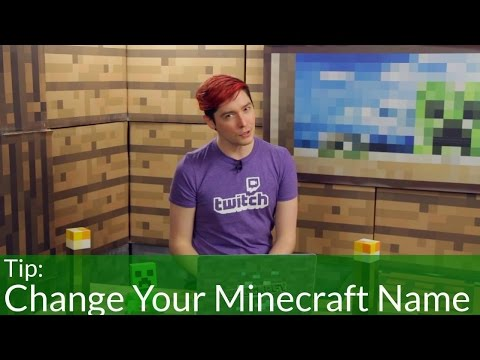 How to Change Your Minecraft Username!