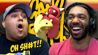 [HILARIOUS!] SH#T GOT REAL!!! [GANG BEASTS]
