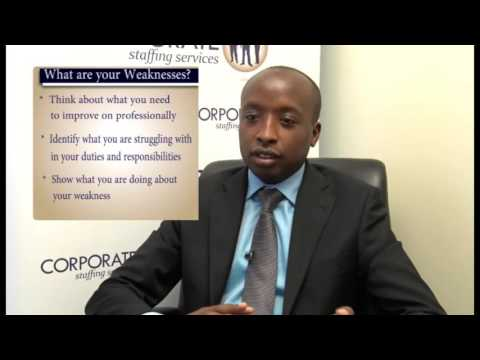 Weakness Interview Questions And Answers