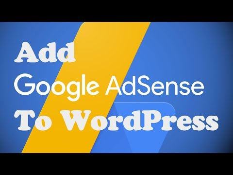 How to Add Google ADSENSE to WORDPRESS without a plugin