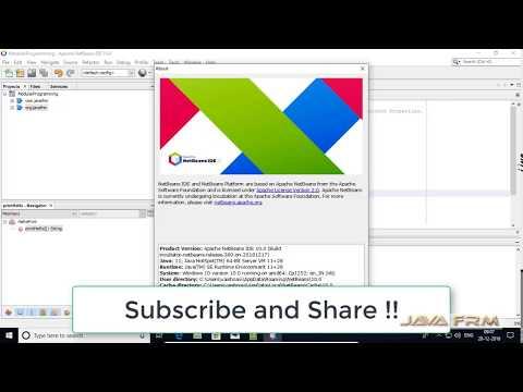 Apache Netbeans IDE 10 and Java 11 Modular Programming example on Windows 10