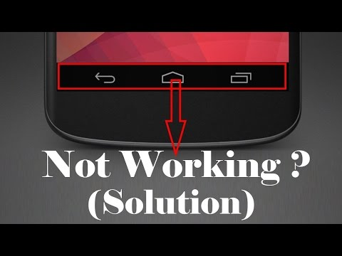 Android Button Not Working Fix Enable Touch Button Soft Key