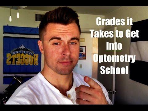 Optometry School: Grades it Takes