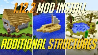 Additional Structures Mod 1.12.2 Minecraft - How To Download And Install Additional Structures
