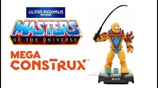 Beastman Masters of the Universe Mega Construx
