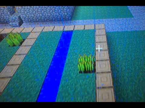 Minecraft Xbox 360 water bucket