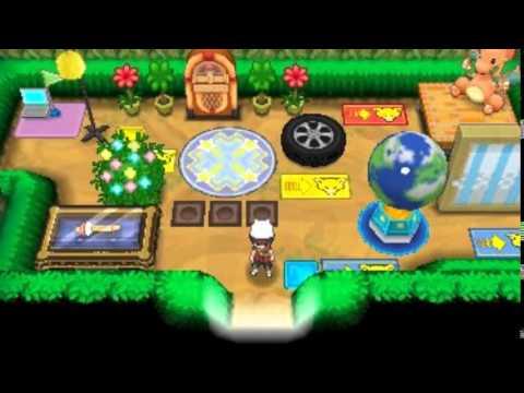 Pokemon Omega Ruby and Alpha Sapphire Secret Base Screenshots