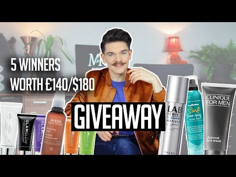 200K GIVEAWAY | Worldwide! | Men's Hair and Grooming Products
