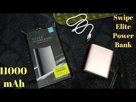 Swipe Elite ELITEPB11K01L 11000 mAh Power Bank Unboxing Review Rose Gold Budget Power Bank