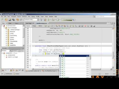 How to Set Jtextfield Numeric Only in Java Swing Programing