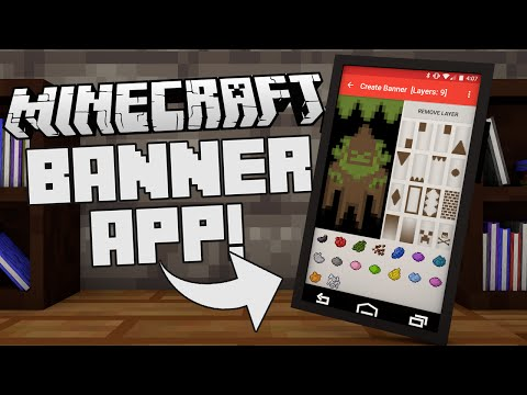 EPIC MINECRAFT BANNER APP!!! - Minecraft Mobile Application