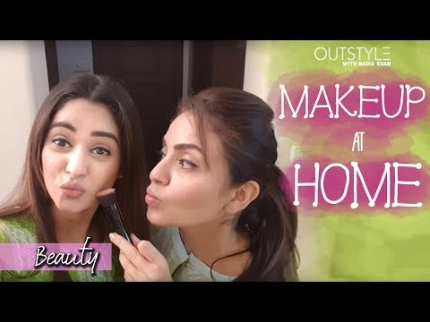 Celebrities | Light Makeup At Home? | Nadia Khan Makeup Tricks You Need To Know | Outstyle