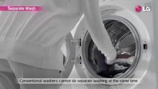 LG TWINWash™ Washing Machine USP Film (Global ver.)