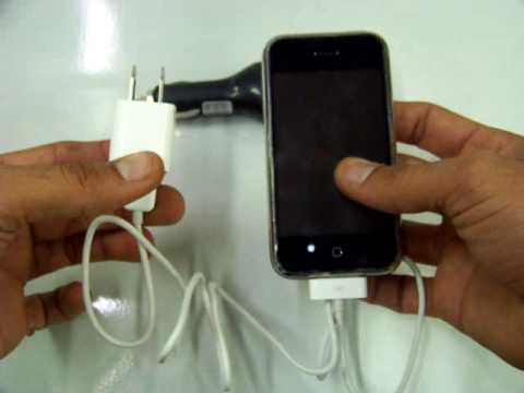 OEM Wall Charger+USB cable+car charger for ipone 3G 3GS