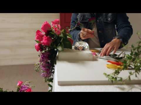 Workbench Basics: Teardrop Bouquet