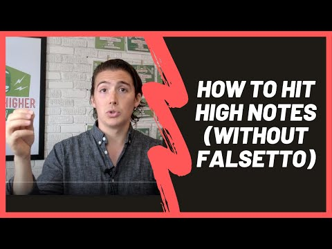 How to Sing High Notes without Falsetto--Works for Guys and Girls!