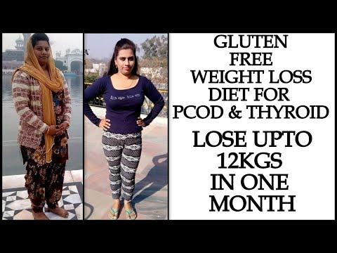 Thyroid & PCOS Diet Plan: Full Day Gluten Free Diet to Lose Upto 12Kg in 1 Month | Indian Diet Chart