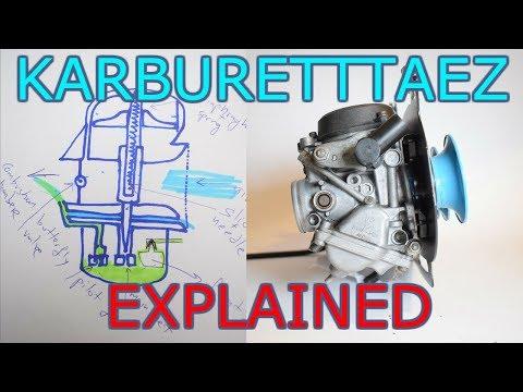 How carburetors and cv carbs work - EXPLAINED