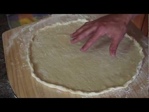 Cracker Crust Pizza Dough Recipe!