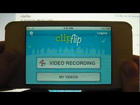Making Money$$ from a FREE App?!?! Clipflip App Review for iPhone, iPod Touch and iPad (HD)