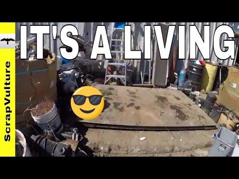 HOW I DO WHAT I DO WHERE I DO WHEN I DO - Scrap YARD Dumpster DIVING Trip!