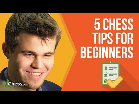 Magnus Carlsen's 5 Chess Tips For Beginning Players