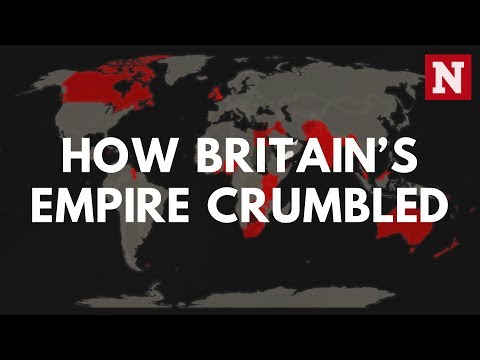 From India To Hong Kong: How Britain's Empire Crumbled