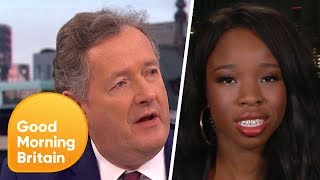 Piers Morgan Argues with