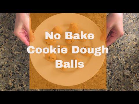 Gigi's Recipe Shorts -  Pumpkin Cookie Dough Bites | Vegan |Allergen Free| No Bake
