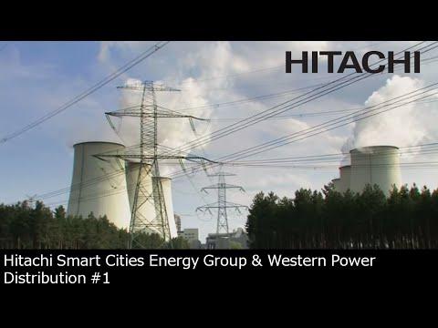 #1 Hitachi Smart Cities Energy Group & Western Power Distribution joint venture (UK) - Hitachi