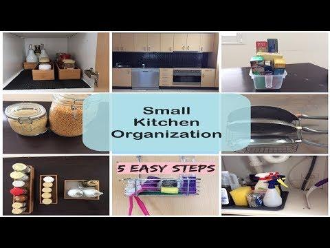 Kitchen Organization | How to Organize Small Kitchen |Indian Kitchen Organization