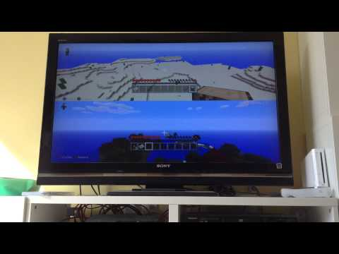 Minecraft how to fly and teleport in survival PS3 plus sand village and temple