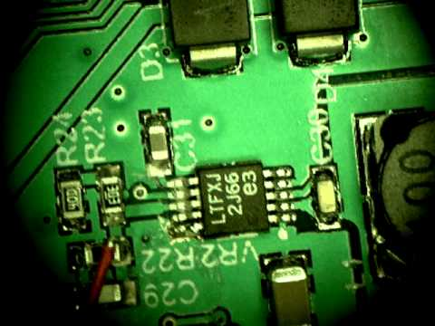 Cutting trace on dual probe circuit board