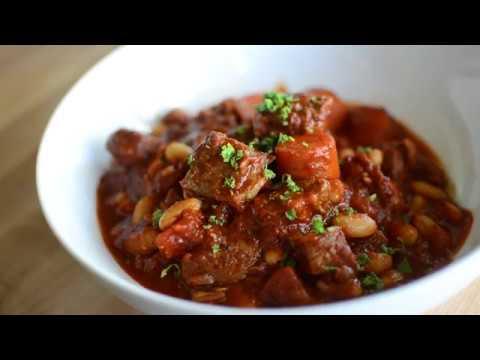 Pork and White Bean Stew