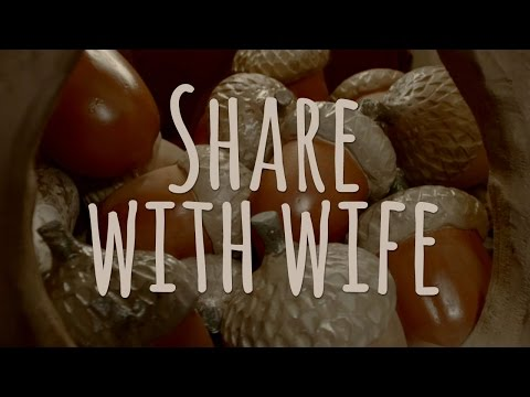 Saving is Nut Difficult (Share with wife)