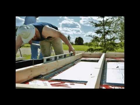 Retrofitting a Flat Deck Trailer for a Tiny House