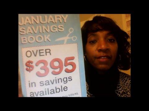 Walgreens Coupon Savings Book ~ January 2015