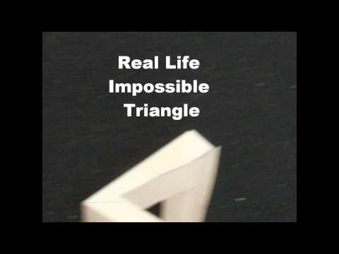 Zillusion # 2 How To Draw And Make Your Own Impossible Traingle