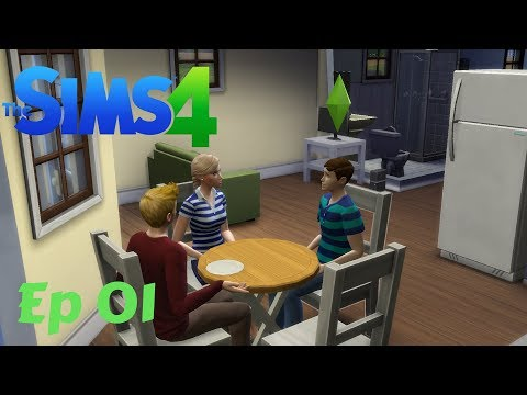 The Sims 4 Let's Play Ep. 1: Meeting the Neighbors