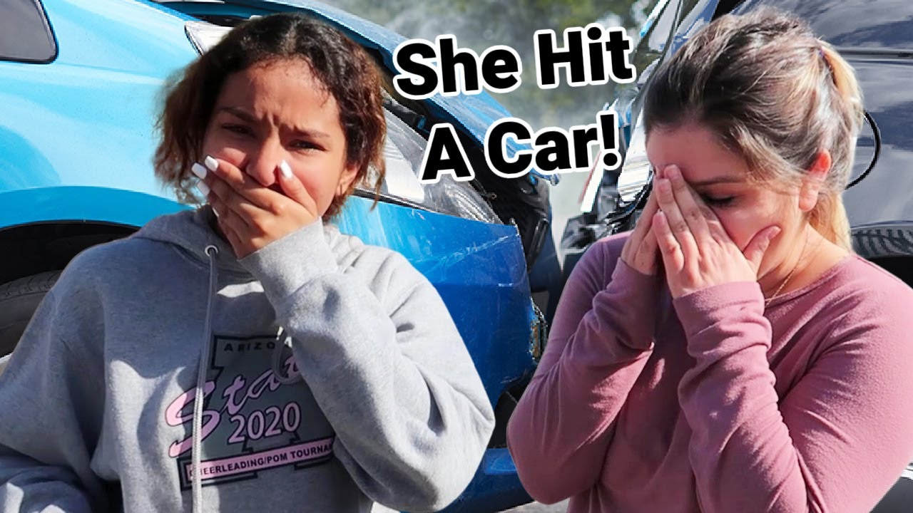 She Hit a Car | First Accident