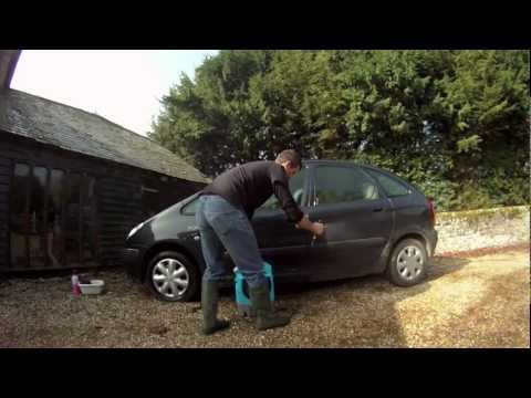 Mobi Washer | How to clean your car with very little water