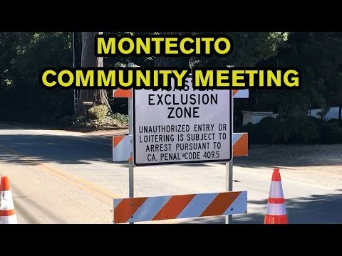 LIVE: Montecito Community Meeting to address future storm risks at 6 p.m.