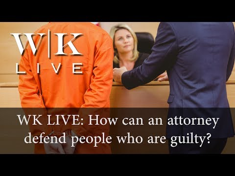 How can attorneys defend the guilty?