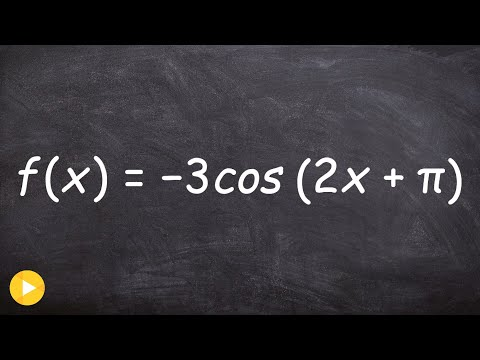 Graphing Cosine with Period Change and Phase Shift