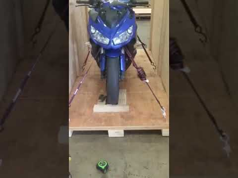 building motorcycle crate