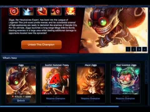 League of Legends:How to get free skins and champions 2011 FEBRUARY.wmv