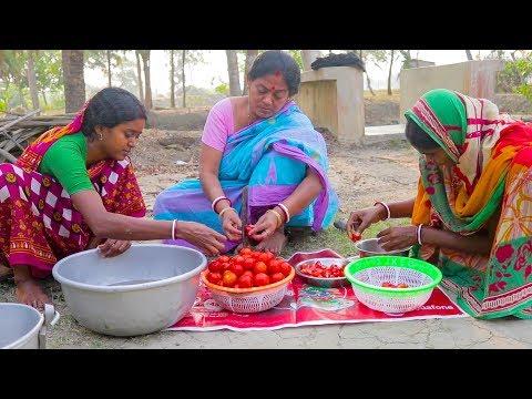 How To Make Tomato Jam - Tasty Sweet Tomato Jam Making