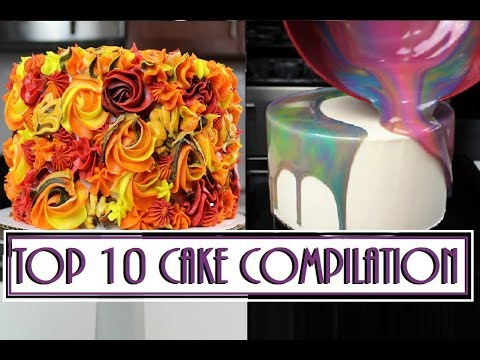 Cake Compilation: My TOP 10 Cakes | CHELSWEETS