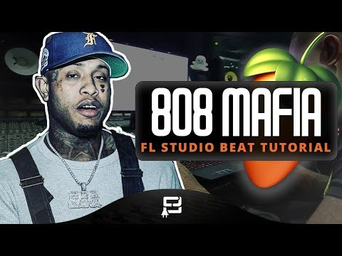 How To Make A 808 Mafia Type Beat On FL Studio 12 | Making A Hard 2018 Trap/ Rap Styled Beat